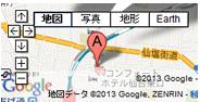 仙台東口かえで整骨院整骨院GoogleMap